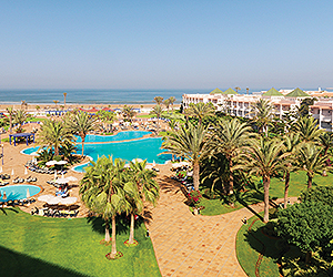 Enjoy Golfing Holidays at the Iberostar Founty Beach Hotel, Agadir