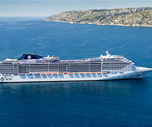Cruise ship MSC Cruises special offers