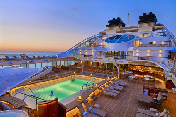 Cruise Ships from Seabourn