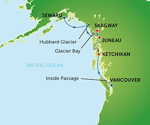 Alaska Cruise Fron Vancouver Norwegian Sun