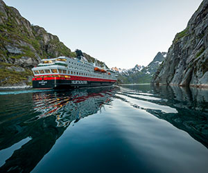 Arctic Wonder Voyage with Snow Hotel Stay Cruise holiday on MS Nordkapp 7 night