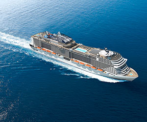 Italian Mediterranean Cruise from Barcelona Cruise holiday on MSC Bellissima 4 night