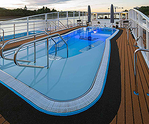 Blue Danube Discovery Cruise holiday on AmaViola  night