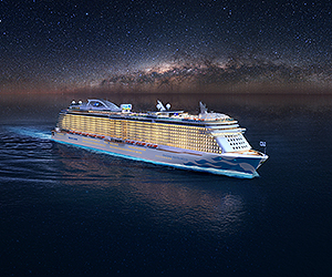 Greece & Italy Cruise Cruise holiday on Enchanted Princess  night