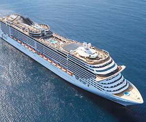 Short Mediterranean Cruise from Barcelona Cruise holiday on MSC Fantasia 5 night