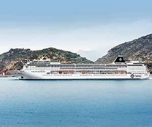 Mykonos & Italy Cruise Cruise holiday on MSC Sinfonia  night