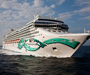 Estonia & Russia Cruise Cruise holiday on Norwegian Jade  night