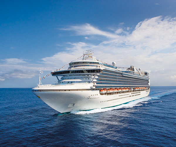 Sicily & Montenegro Cruise Cruise holiday on Crown Princess 7 night