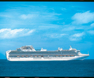 Mediterranean Adventure Cruise holiday on Sapphire Princess 8 night