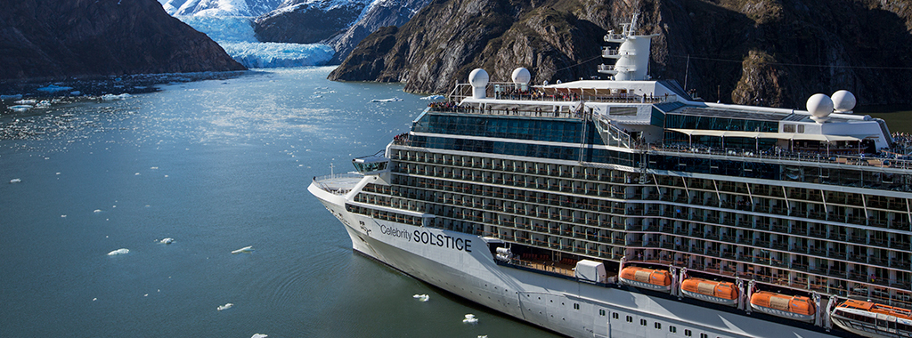 Alaska Tracy Arm Fjord Cruise from Seattle on Celebrity Solstice