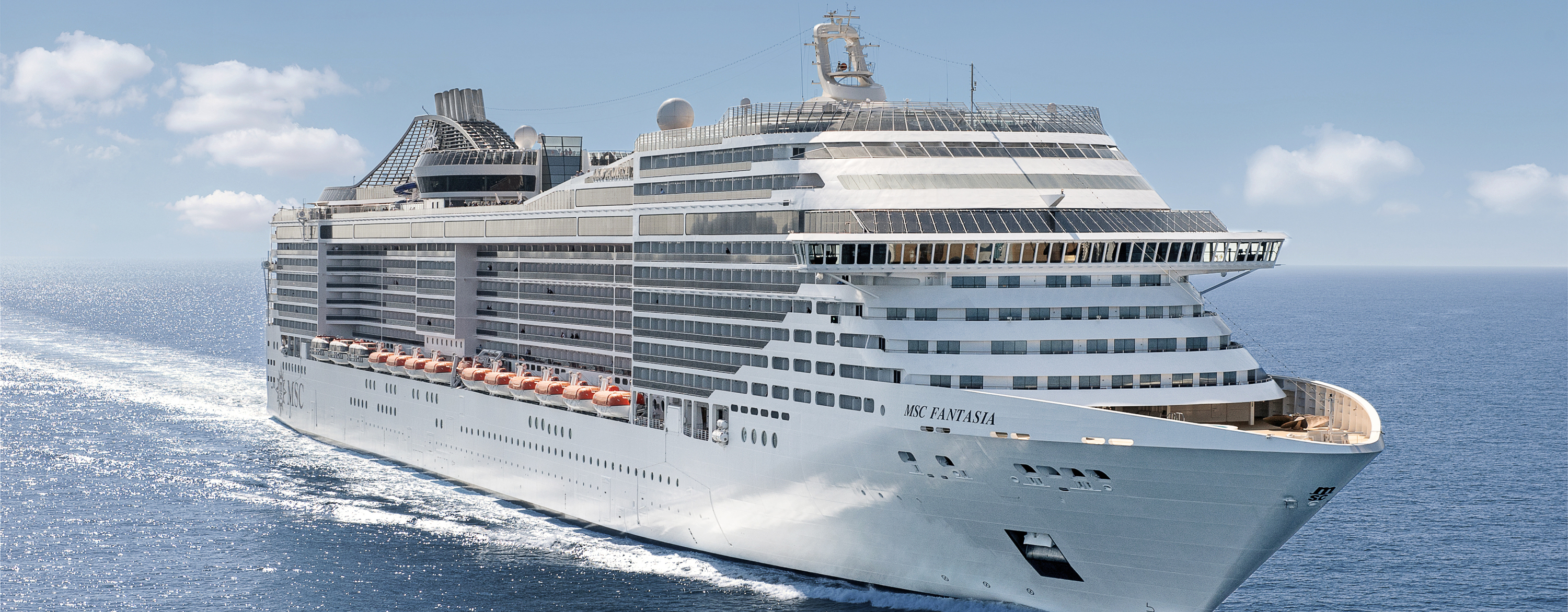 Short Mediterranean Cruise from Barcelona on MSC Fantasia