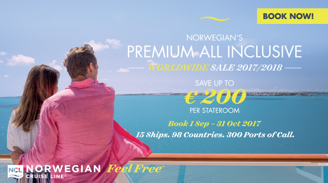 Norwegian Cruise Line | Premium All Inclusive with Sunway