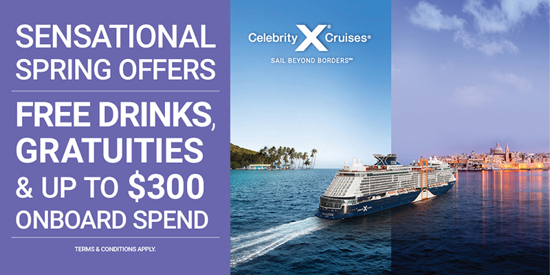 Celebrity Cruise with Sunway