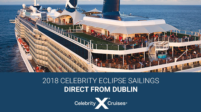 2018 Celebrity Eclipse Sailings