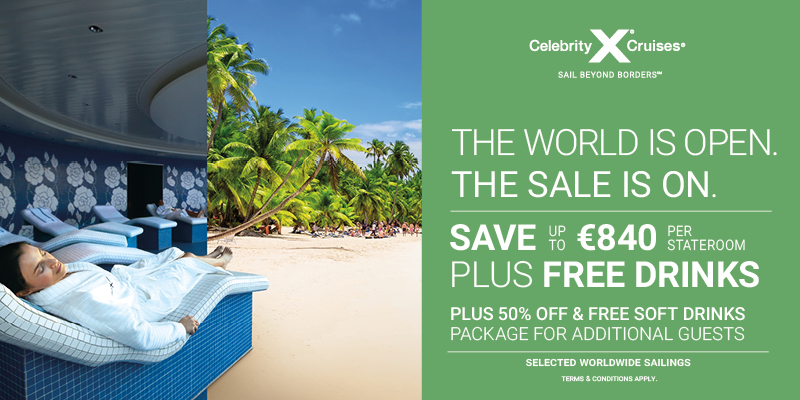 Celebrity Cruises with Sunway