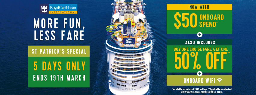 Royal Caribbean Cruise with Sunway