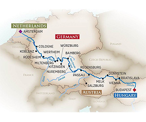Magnificent Europe Christmas Cruise River Cruise holiday