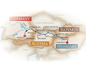Melodies of the Danube River Cruise holiday