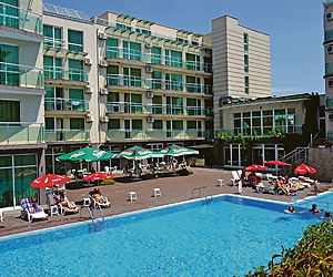 Stay at the Hotel Clara, Sarafovo with Sunway