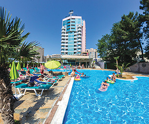Stay at the Grand Hotel Sunny Beach, Sunny Beach with Sunway