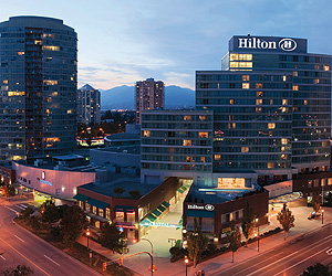 Stay at the Hilton Vancouver, Vancouver with Sunway