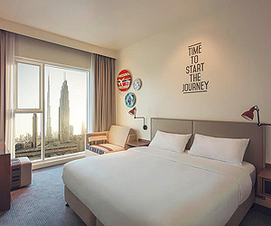 Dubai Accommodation - Rove Downtown Hotel - Sunway.ie