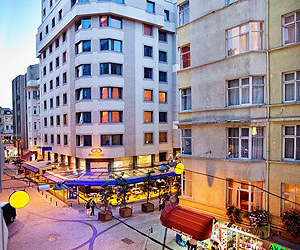 Stay at the Best Western Eresin Taxim Hotel, Istanbul with Sunway