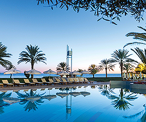 Stay at the Constantinou Bros Athena Royal Beach Hotel, Paphos with Sunway