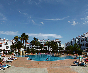 Stay at the Vista Blanes Apartments, Cala n Forcat / Cala n Blanes with Sunway