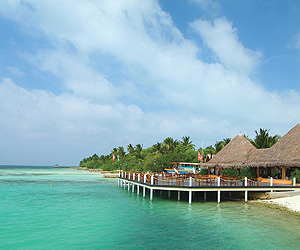 Stay at the Adaaran Select Hudhuranfushi, Maldives with Sunway