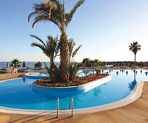 Stay at the Cynthiana Beach Hotel, Paphos with Sunway