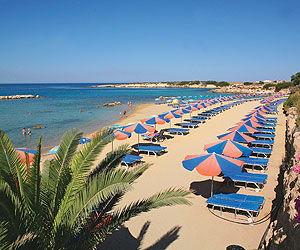 Book the Cynthiana Beach Hotel, Paphos - Sunway.ie