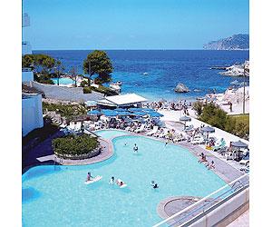 D 39 or jardin de playa hotel holidays santa ponsa deals d 39 or for Aparthotel d or jardin de playa santa ponsa