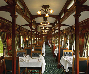Book the Rovos Rail, Luxury Rail Journeys - Sunway.ie