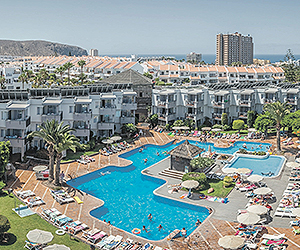 Stay at the HG Tenerife Sur Apartments, Los Cristianos with Sunway
