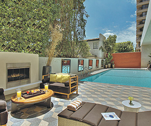 Stay at the Kimpton Palamor, Los Angeles Downtown with Sunway