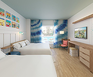 Universal Orlando Resort™ Accommodation - Universal's Endless Summer Resort - Surfside Inn and Suites - Sunway.ie