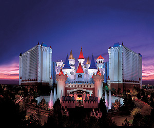 Stay at the Excalibur Hotel & Casino, Las Vegas with Sunway