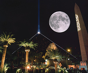 Stay at the Luxor Hotel, Las Vegas with Sunway