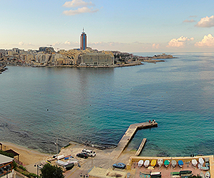 Sliema Holidays - Direct flights from Ireland
