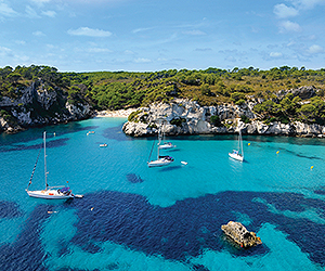 Book your Menorca flights direct from Ireland Holiday with Sunway