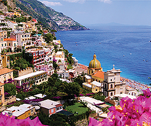 Your Sorrento, Positano, Capri and The Amalfi Coast Holiday begins with Sunway