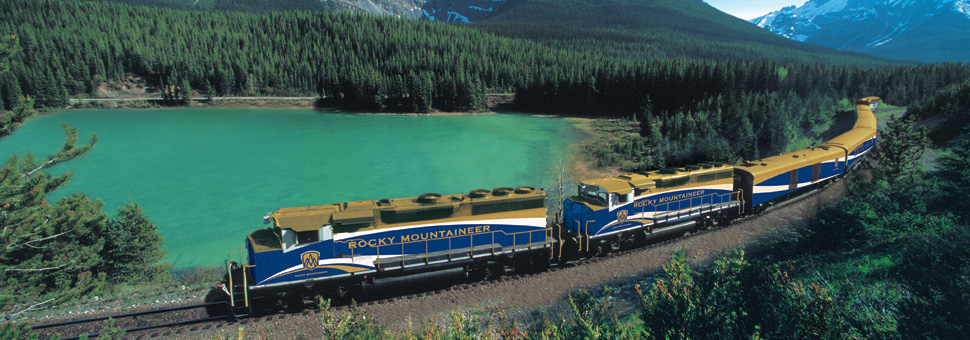 Sunway offer holidays onboard the Rocky Mountaineer, Canada