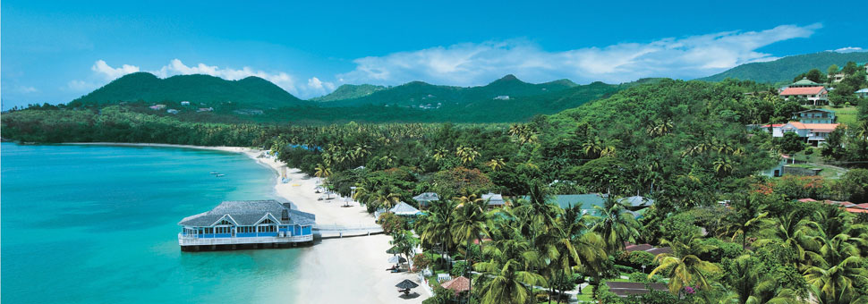 Sandals Halcyon Beach Saint Lucia Holidays with Sunway
