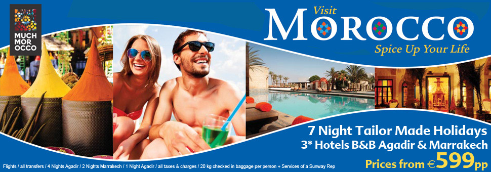 Book your Sunway holiday to Morocco
