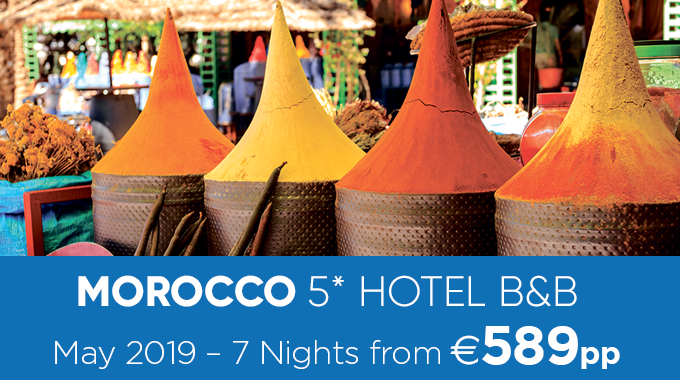 Morocco | 7 Nights from €589pp