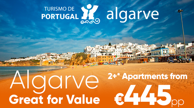 Algarve | 7 Nights from €449pp