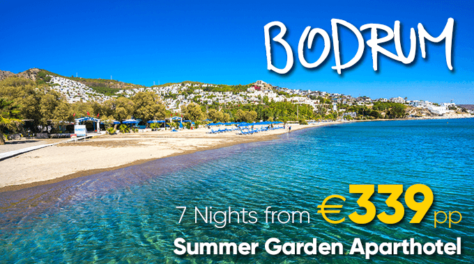 Bodrum | 7 Nights from €339pp