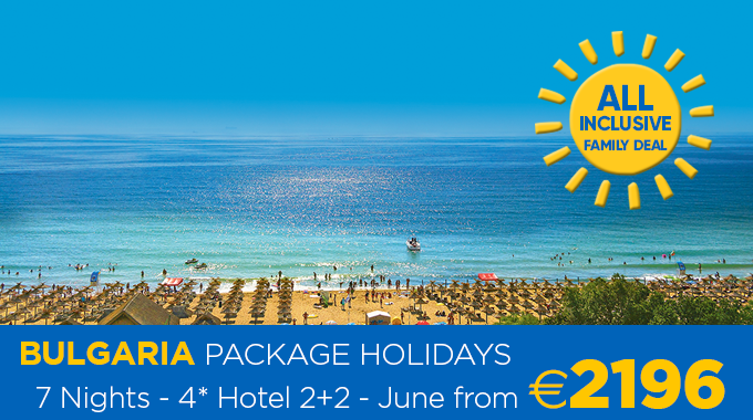 Bulgaria Family Package | 7 Nights from €2196