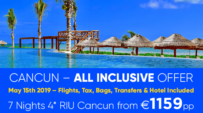 Cancun, Mexico | 7 nights from €1159pp